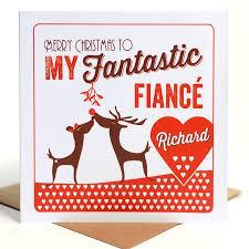 fiance christmas card christmas lights decoration
