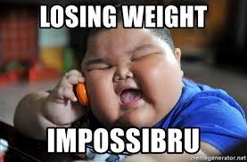 Impossibru Meme Generator - losing weight impossibru fat asian kid meme generator