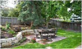backyards charming landscaping ideas sloped backyard pictures