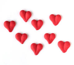heart decorations icing heart decorations sweet estelle s baking supply