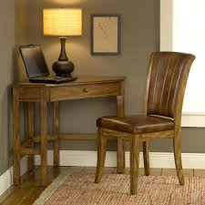 Small Corner Desks Corner Desk With Rich Oak Or Cherry Finish By Hillsdale Wolf And