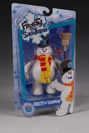 frosty snowman action figure pop culture collectible