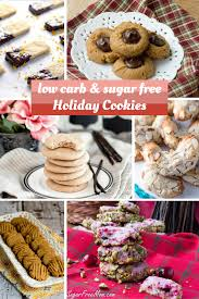 21 sugar free low carb holiday cookie recipes
