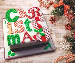 Cake Decorating And Sugarcraft Magazine Christmas Letters Cake Templates Occasions Cake Decoration
