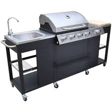 barbecue cuisine outdoor kitchen barbecue montana 4 burners