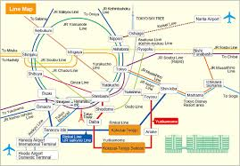 shinagawa station map isf2014