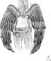 drawings of angel wings roadrunnersae