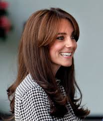 kate middleton bangs popsugar beauty