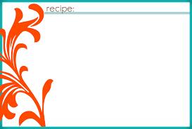 printable recipe cards 4 x 6 4x6 card template word etame mibawa co