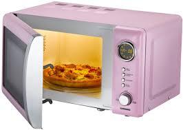 designer mikrowelle classico mikrowelle retro design 16330112 rosa pink