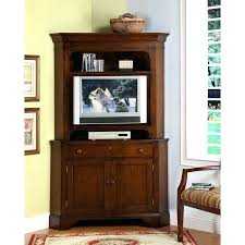 Wooden Jewelry Armoire Stand Up Mirror Jewelry Armoire Corner Cabinet Entertainment