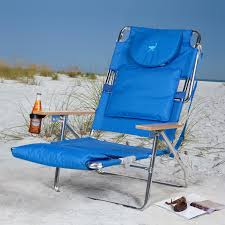 Padded Lawn Chairs Deluxe Padded Ostrich Sport 3 N 1 Beach Chair Walmart Com