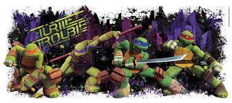 teenage mutant ninja turtles giant wall decal birthdayexpress com