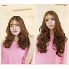 curly hair extensions before and after 24 60cm curly hair extension women waving hairs 5 in