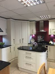 we love this kitchen style and layout shaker bone wickes