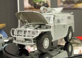 gaz tigr xact scale models