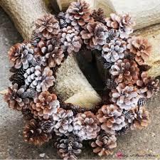 pine cone wreath pine cone wreath sugar spice and glitter