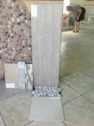 master bath tile suite large format wood grain ceramic tile for