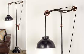 Pulley Floor L Industrial Pulley Floor L Farmhouse Finds