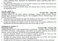 Database Administrator Resume Examples by Marvelous Dba Resume 3 Database Administrator Resume Example