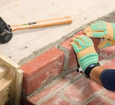 How To Lay Patio Bricks Brick Over Concrete How To Love The Idea But Not Sure How Well