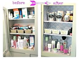 bathroom cabinet organizer organize with baskets bathroom vanity