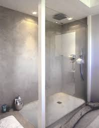 beton ciré mur cuisine la décoration avec le béton ciré cheminée escalier cuisine