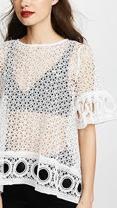 white lace blouses factory lace blouse shopbop