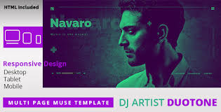 dj templates from themeforest