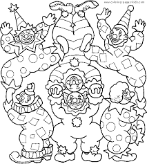 printable 44 circus coloring pages 1333 circus amp clowns color