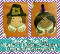 festive zoo pal pilgrim american crafts for thanksgiving