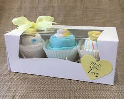 Unique Gift Ideas For Baby Shower - baby neutral onesie cupcakes baby shower gift unique baby