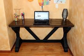 ana white my first build the 55 fancy x desk diy projects