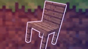 Minecraft How To Make A Furniture by Minecraft How To Make A Working Chair Youtube