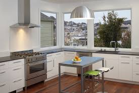 san francisco mobile kitchen island modern with industrial