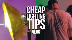 Lighting Tips by Cheap Music Video Lighting Tips Vlog Youtube