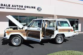 jeep grand wagoneer 1988 jeep grand wagoneer limited 4x4 stock p1158 for sale near