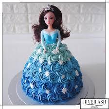 doll cake 3d princess doll cake singapore river ash bakery