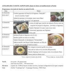 cours de cuisine par laure kié cuisine franco japonaise within cours de cuisine