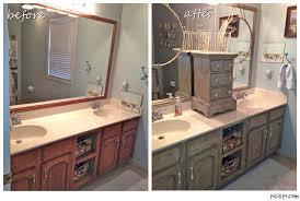 Annie Sloan Chalk Painted Kitchen Cabinets Bathroom Vanity Makeover With Annie Sloan Chalk Paint Hometalk