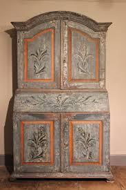bureau armoire cuisine a polychrome painted lacca povera bureau cabi