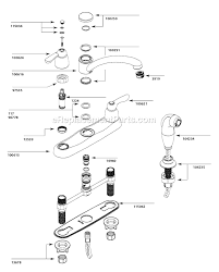 kitchen sink faucet parts diagram moen 7907 parts list and diagram ereplacementparts com