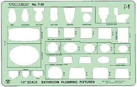Bathroom Plumbing Fixtures Timely T 39 Bathroom Plumbing Fixtures Drafting Template