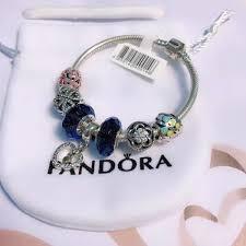 silver bead bracelet diy images Pandora bracelet silver 925 double heart charms fit original jpg
