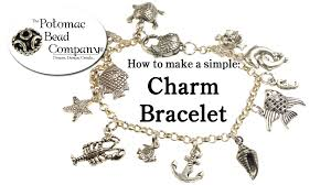 ring charm bracelet images How to make a simple charm bracelet jpg