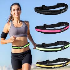 waist band waist band zipper pocket sports fitness belt pouch