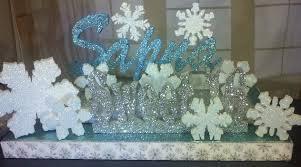 Winter Wonderland Centerpieces by Centerpieces For Winter Wonderland Party Styrofoam Centerpieces