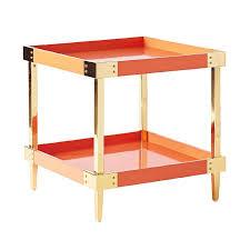 Orange Side Table Orange Side Table