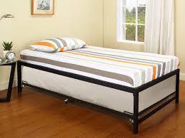 bedroom luxury goshen black metal daybed twin trundle link