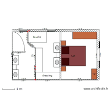 plan chambre plan chambre parentale deco chambre parentale moderne plan suite